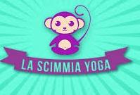 La scimmia yoga