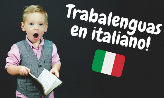 trabalenguas en italiano
