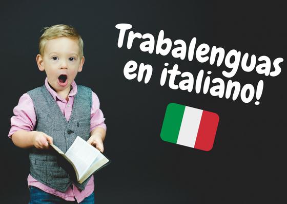 trabalenguas en italiano