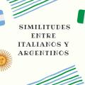 similitudes entre italianos y argentinos