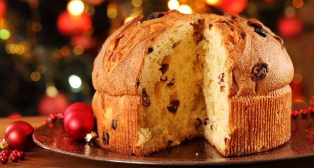 El postre italiano típico de Navidad: el Panettone