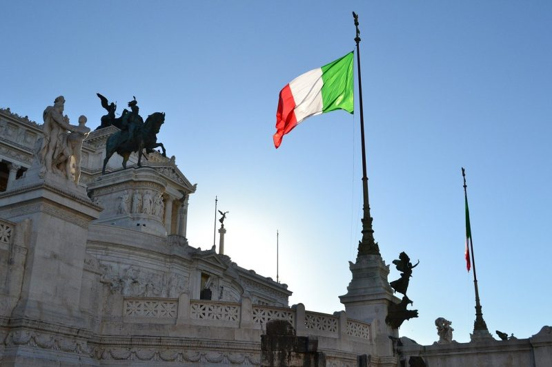 25 de abril en italia